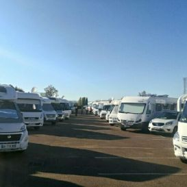 Rassemblement de Camping-cars